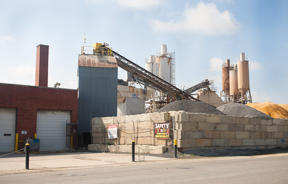 concrete plant photo